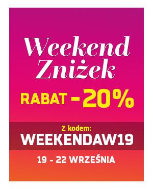 Weekend zniżek -20% na nową kolekcję w coccodrillo