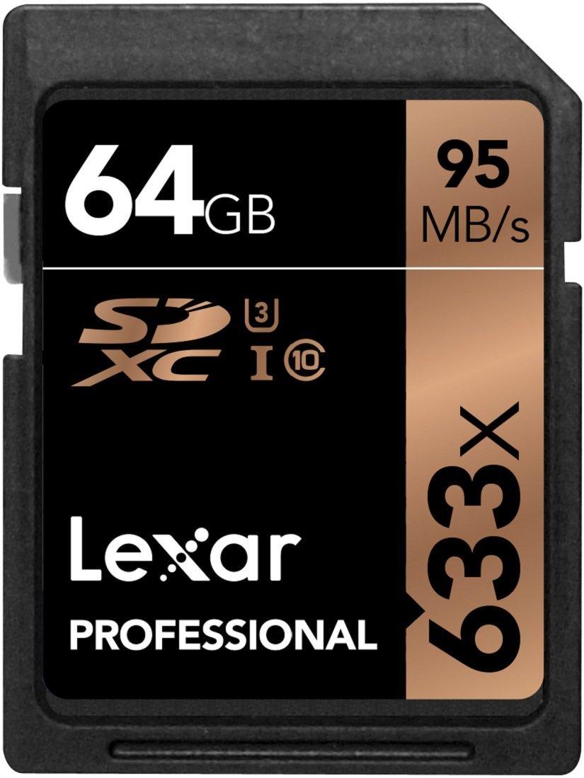 Karta SDXC Lexar 64 GB @ Amazon.de