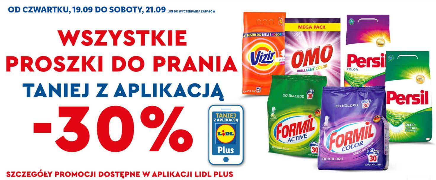 WSZYSTKIE PROSZKI DO PRANIA taniej 30% @ Lidl np. Persil 5,78/kg !