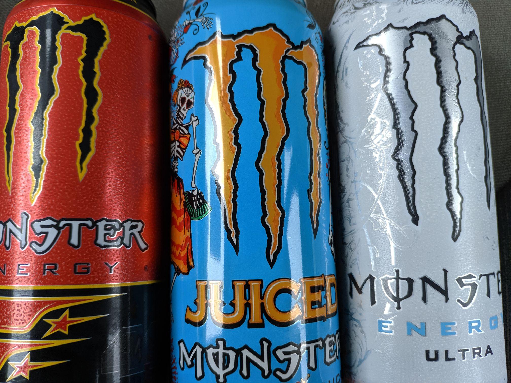 """Monster Energy """"wszystkie rodzaje"""" - Stokrotka"""