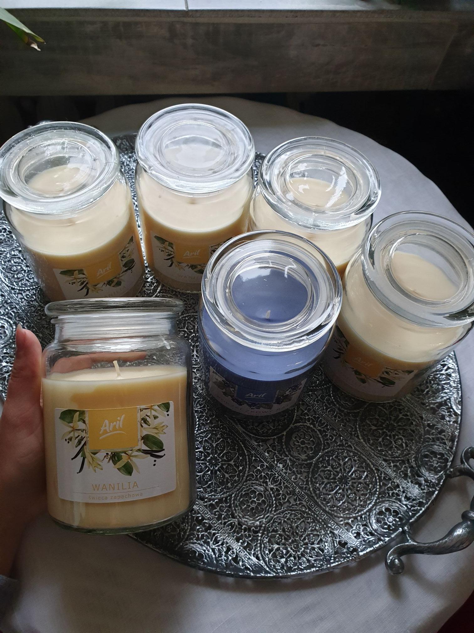 BIEDRONKA duże świeczki