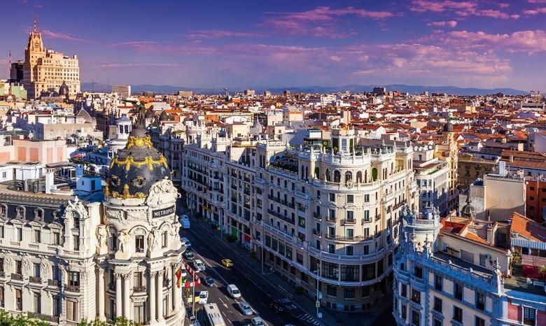 Rzym + Madryt + Porto + Barcelona + Wenecja z Krakowa