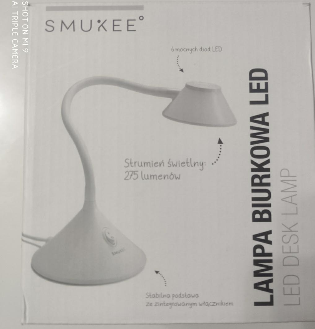Lampa biurkowa led SMUKEE biedronka