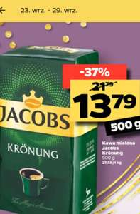 Kawa Jacobs Krönung 500g/13.79 NETTO od 23 do 29
