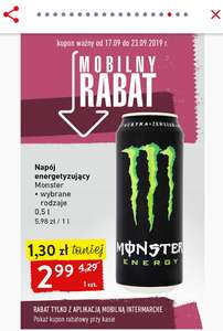 Monster Energy w Intermarche