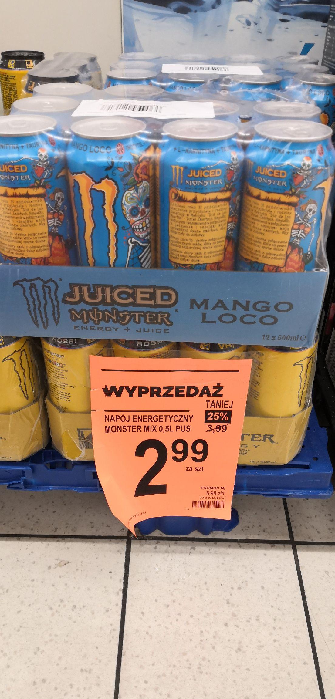 Monsterek Biedronka Mango Loco Doctor