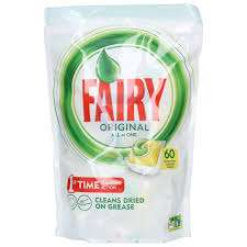 Fairy Original All in One Tabletki do zmywarki 60 szt. Lemon - Kaufland