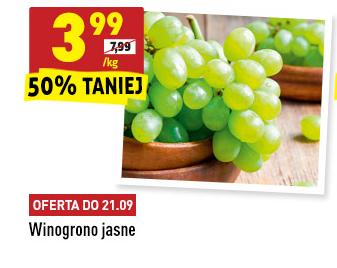 Winogrono jasne w @Biedronka