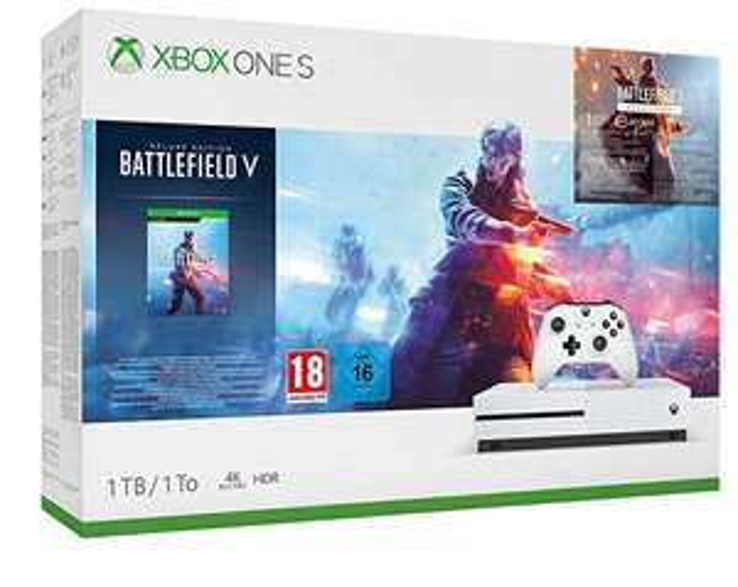 Konsola Xbox One S 1TB + Battlefield V Deluxe Edition za ok. 827 zł z wysyłką do Polski w Amazonie FR