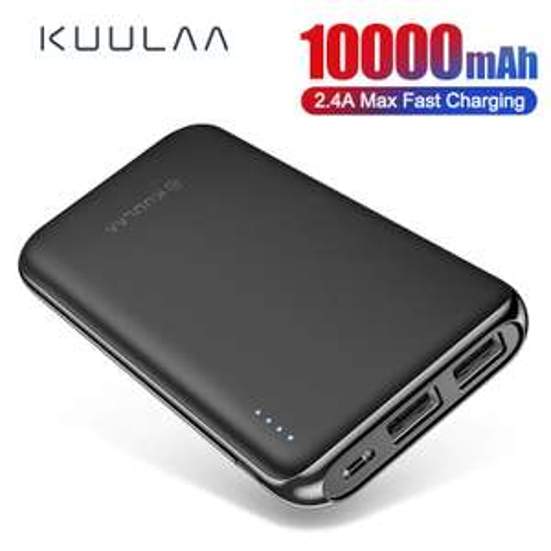 KUULA powerbank 10000mah (2.4A) + ładowarka QC 3.0 = 9,84$