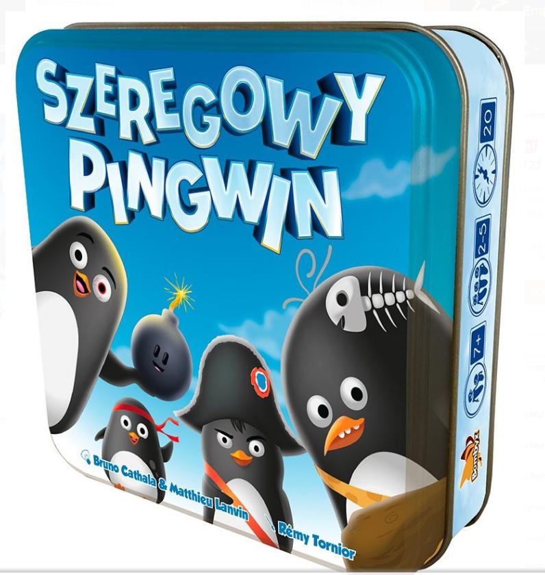 Szeregowy pingwin, gra karciana, Rebel