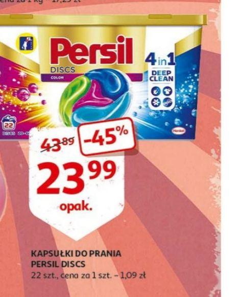 Persil Discis kapsułki do prania  22szt @Auchan