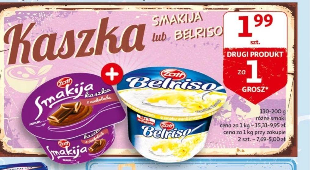 Kaszka Smakija lub Belriso Drugi produkt za grosz @Auchan