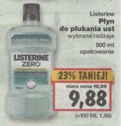 Listerine 500 ml @ Biedronka, Kaufland, Carrefour