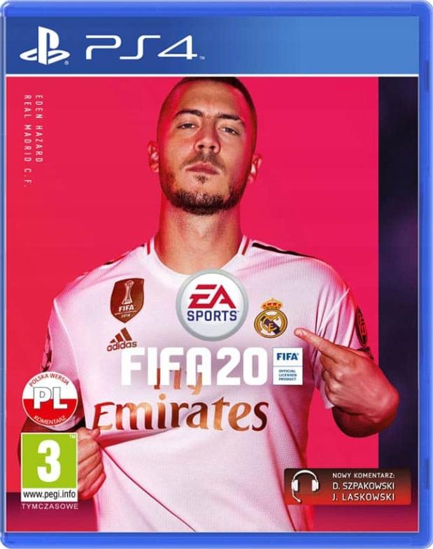 FIFA 20 PS4 Edycja standardowa