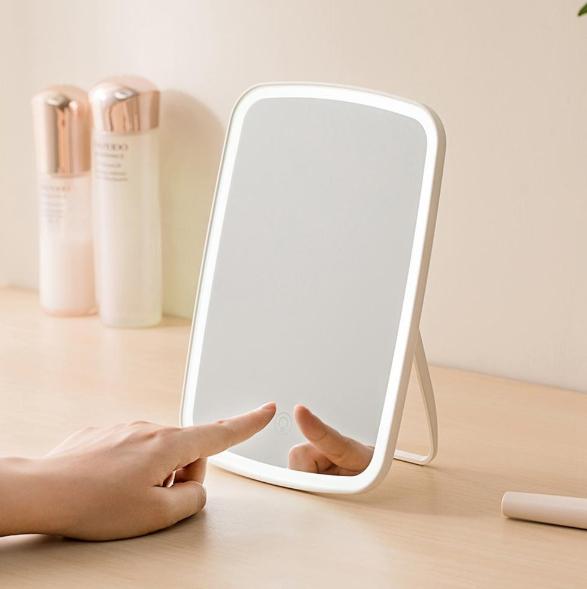 Podświetlane lustro - Xiaomi Youpin LED Makeup Mirror 1200mAh