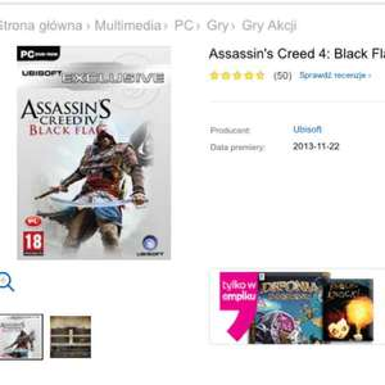Assassin' s Creed IV : Black Flag @Empik