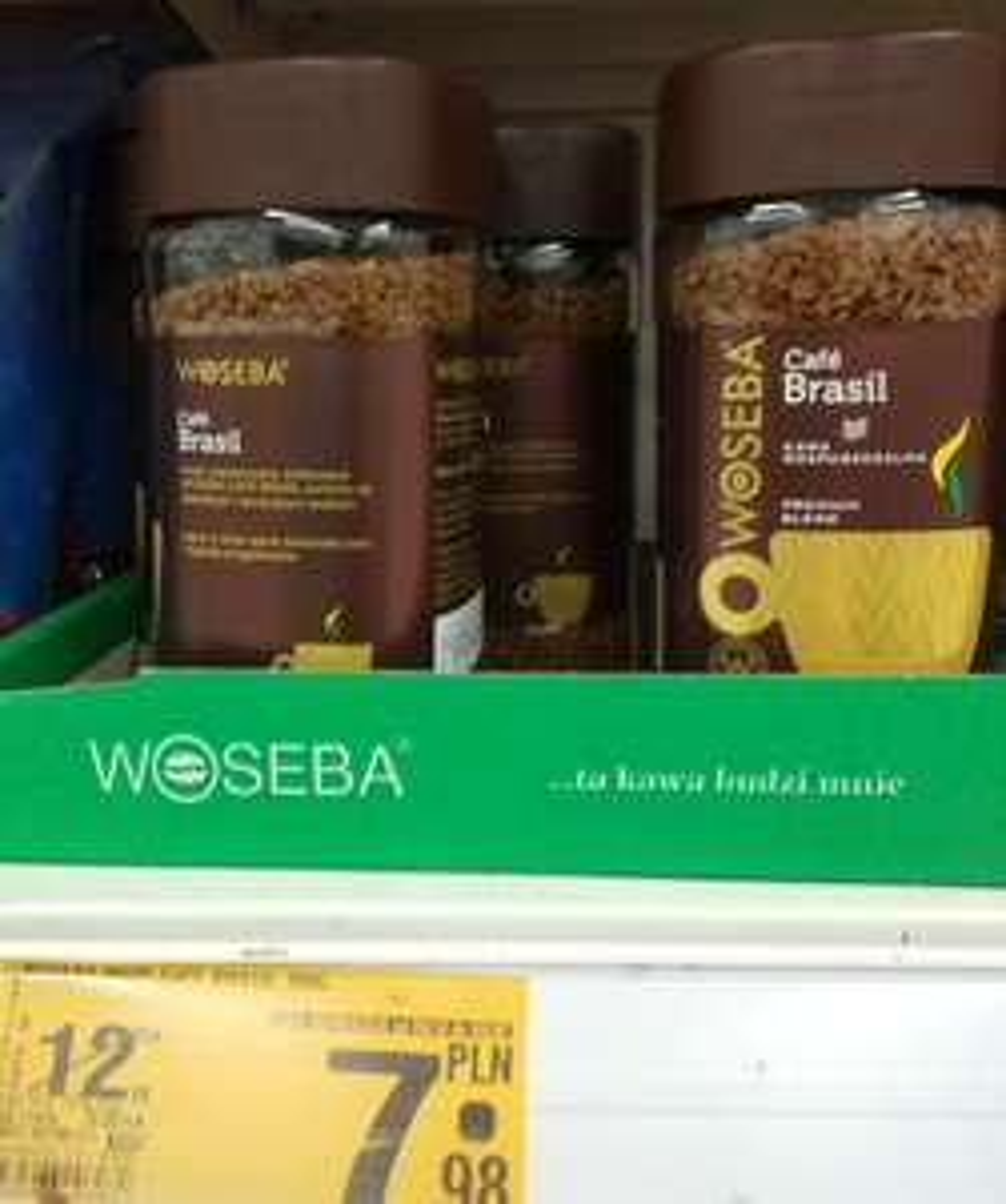Kawa Cafe Brasil Woseba Auchan