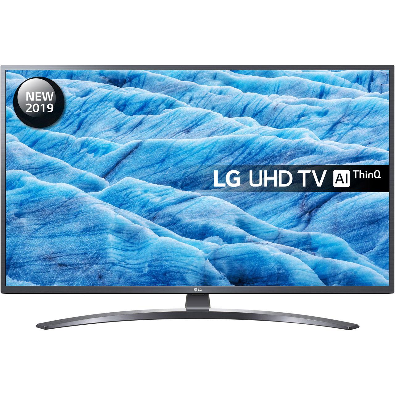 "Telewizor 55"" LG 55UM7400, 4K, Smart, 50Hz, Ai, IPS, HDR, Direct Led (a model 49 "" za 1799 zł 49UM7400)"