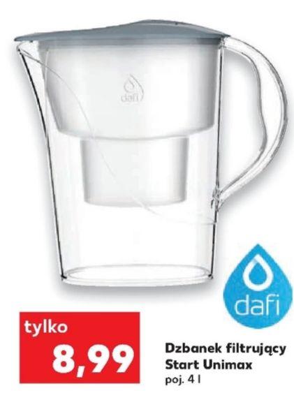 Dzbanek filtrujący Start Unimax Dafi 2,4L @Kaufland