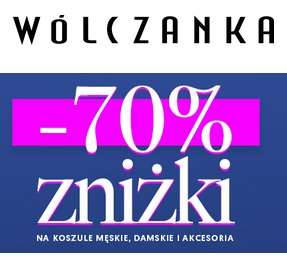 Wólczanka - Gwarantowane -70% na koszule męskie, damskie i akcesoria