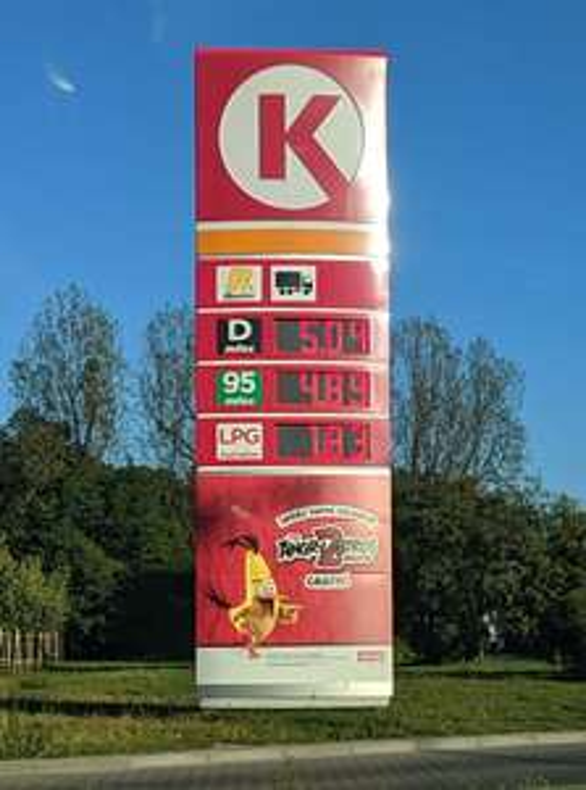 [Łódź] LPG Circle K, ul. Warecka 14/20 (kupon GENERALI!)