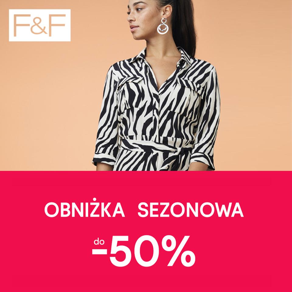 Obniżka sezonowa do -50% kolekcja F&F - Tesco