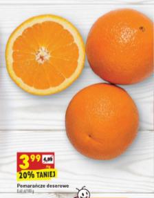 Pomarańcze w @Biedronka