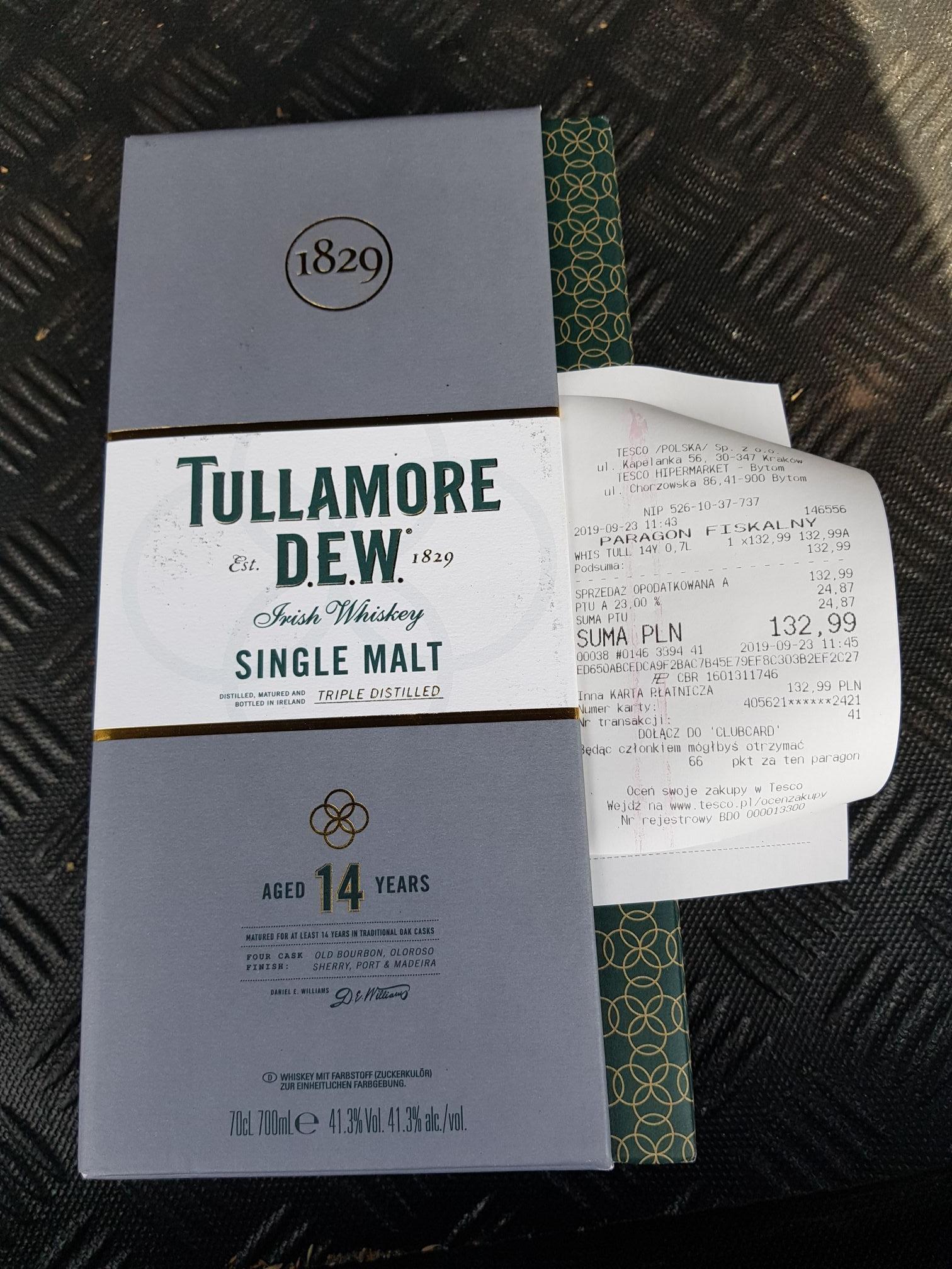 Tullamore D.E.W. 14-letnia Whiskey