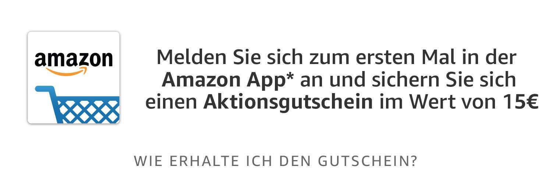 15 euro od AMAZON.DE za pierwsze logowanie do appki