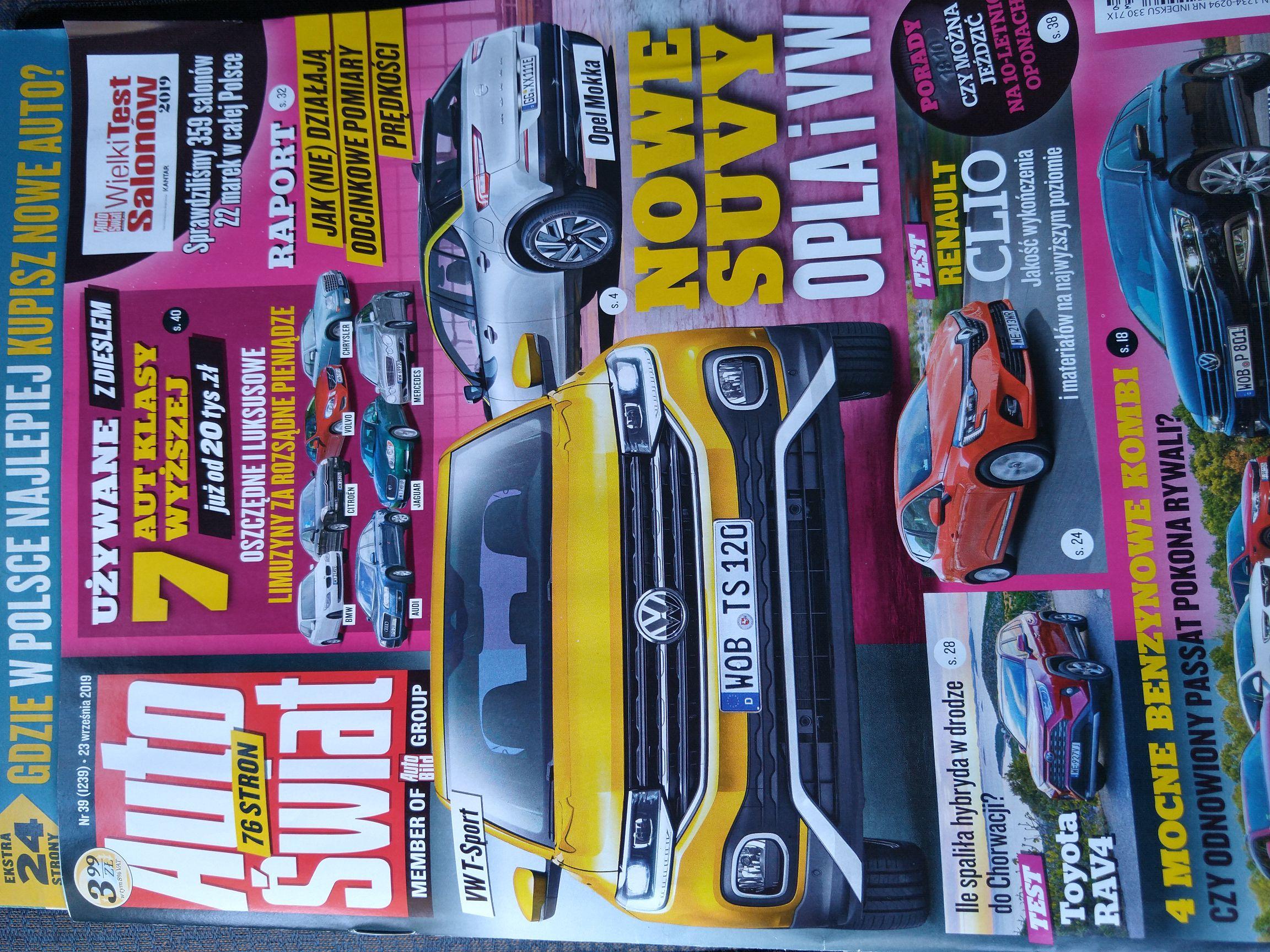 Auto Świat świeży numer (23.09) Biedronka