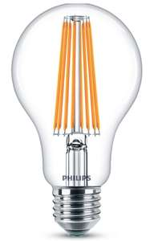 Żarówka LED Philips Filament 11W/100W, 2700K, E27, 1521 lumen, w Selgros