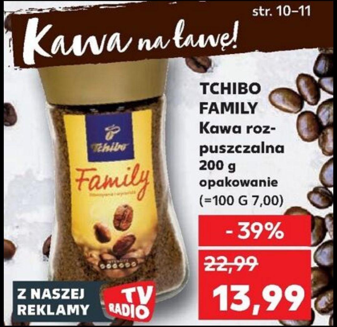 Tchibo Family kawa roszpuszczalna 200g @Kaufland