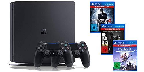 PlayStation 4 Slim + 2 pad + 3 gry w zestawie z niemieckiego AMAZONU