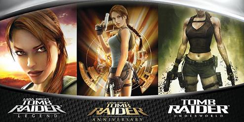 Tomb Raider Legend/Anniversary/Underworld po 6,99zł każda [X360/ONE BC] i 2013 za 7,89zł [X360]