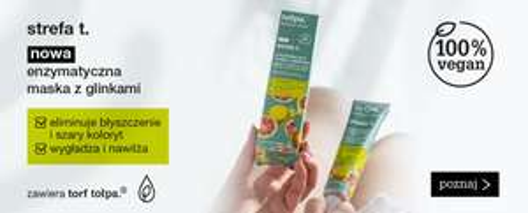 ~ 30% zniżki na wszystkie kosmetyki tołpa tylko dzisiaj