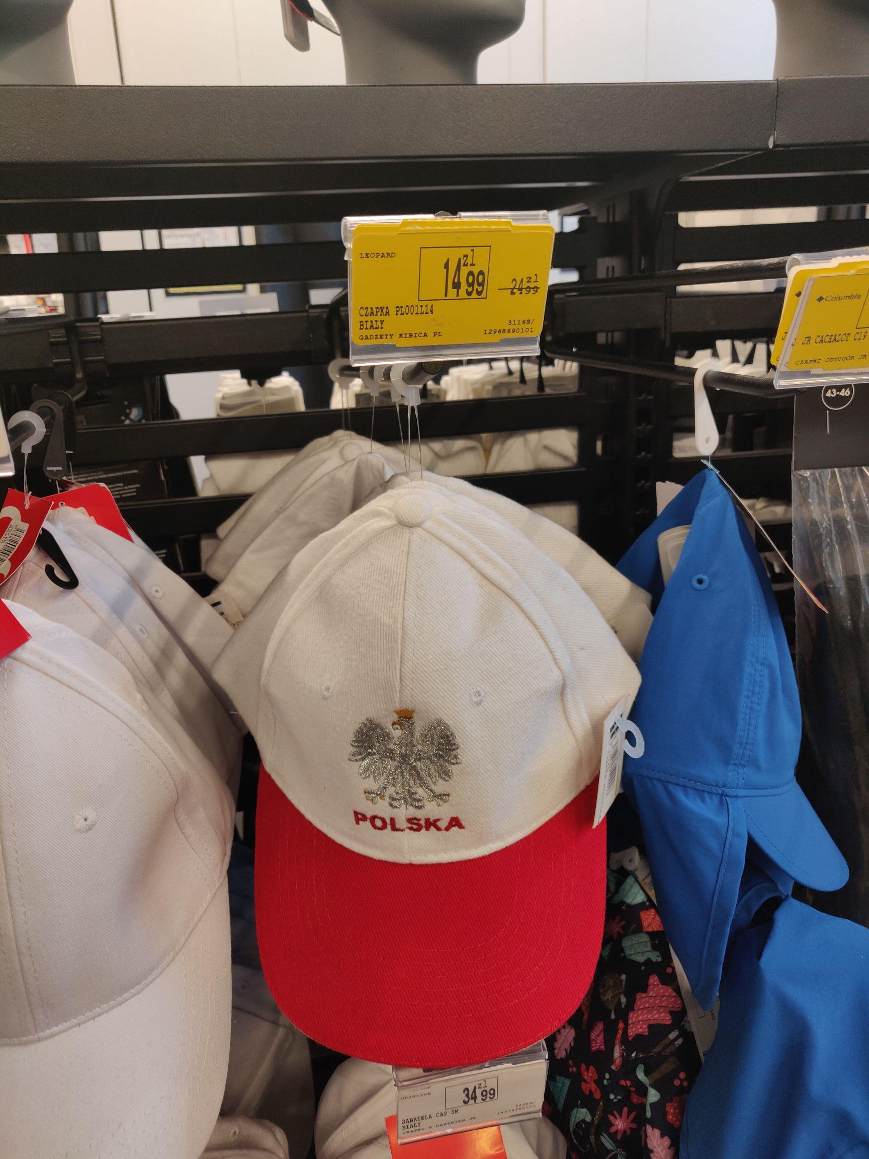 Wspaniała patriotyczna czapka z daszkiem - go sport CH Promenada