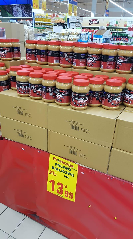 Masło orzechowe 1kg ; Pomidory w puszce SAN MARZNO; Napój kokos. 1l kara COCO; Szybkie Danie BIO z kaszy jaglanej Livity  @ E.Leclerc Gdańsk
