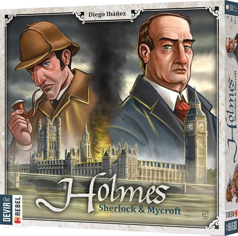 Rebel, Holmes: Sherlock & Mycroft, gra strategiczna + odbiór w punkcie 0zł SMYK