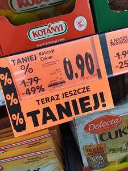 Cukier Kotanyi Kaufland Augustów