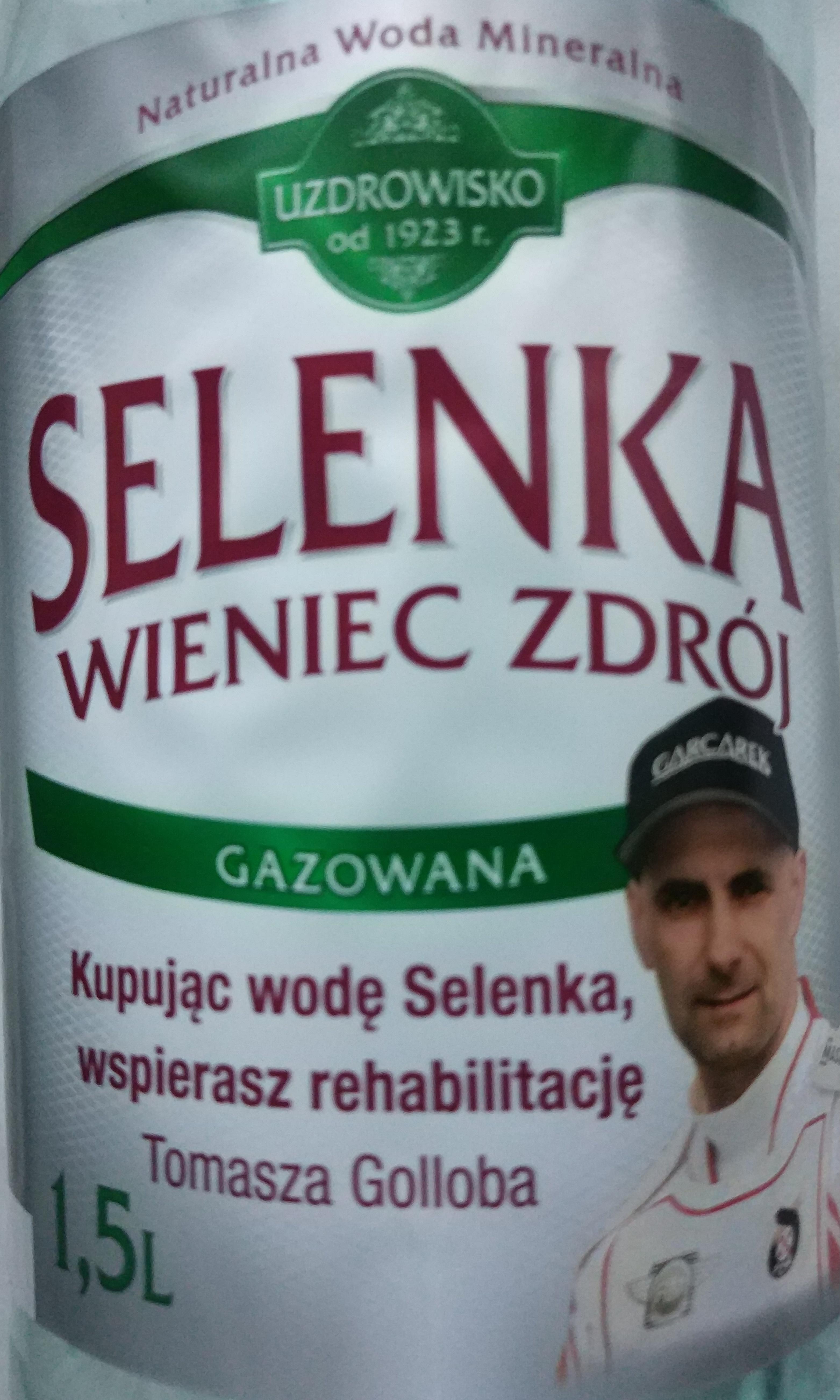 Woda mineralna Selenka 1,5 L Auchan
