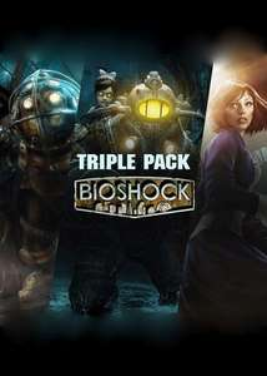 Bioshock Triple Pack Steam Key GLOBAL PC