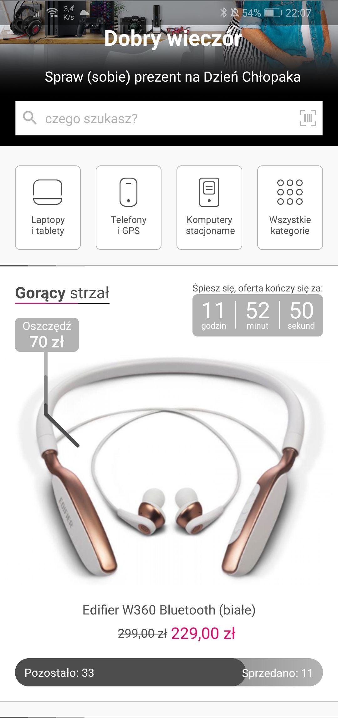 Edifier W360 Bluetooth (białe)