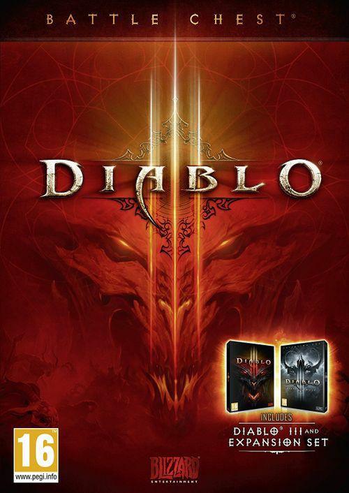 Diablo III BATTLECHEST (pełna gra i Reaper of Souls) PC za 13,39 euro
