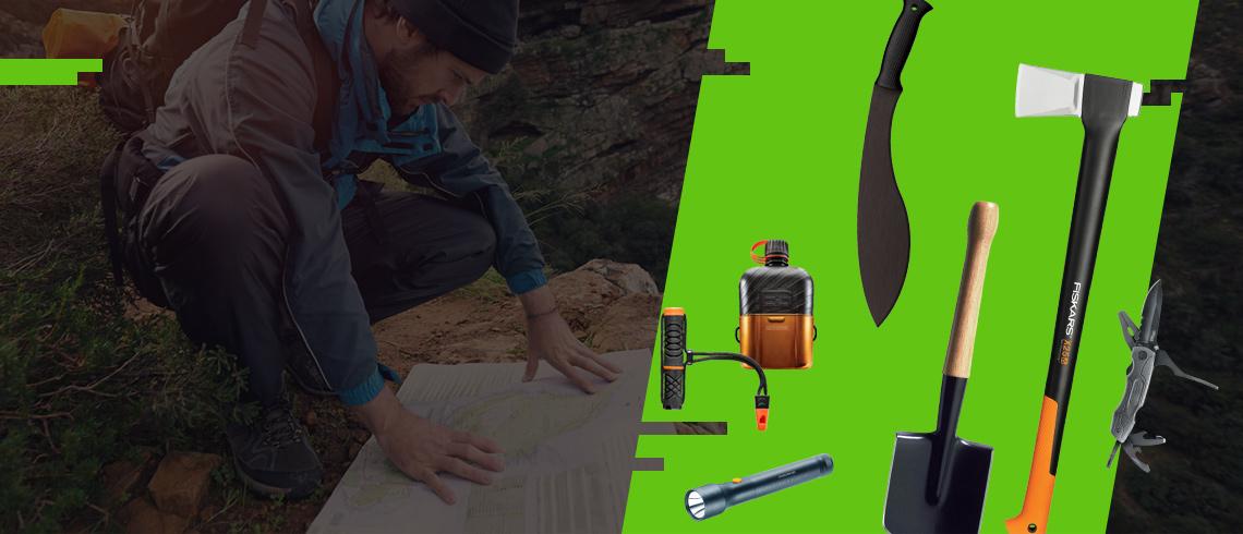 10% rabatu na narzędzia, latarki, outdoor