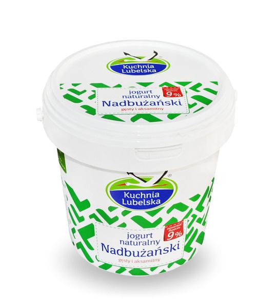 Jogurt nadbużański 1kg 3,99 (-43%)