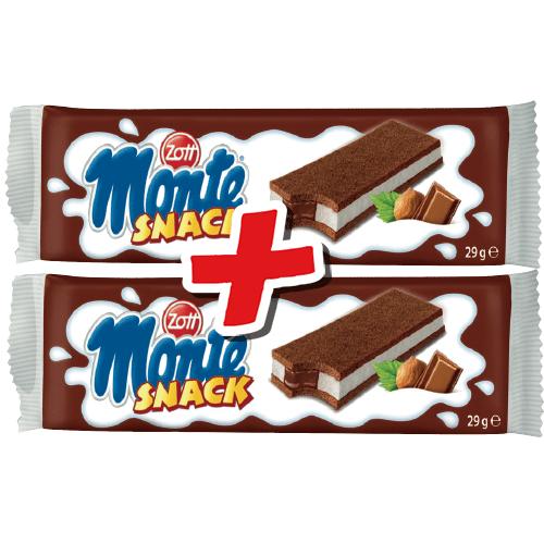 Monte Snack za 79gr przy zakupie 2szt Intermarche