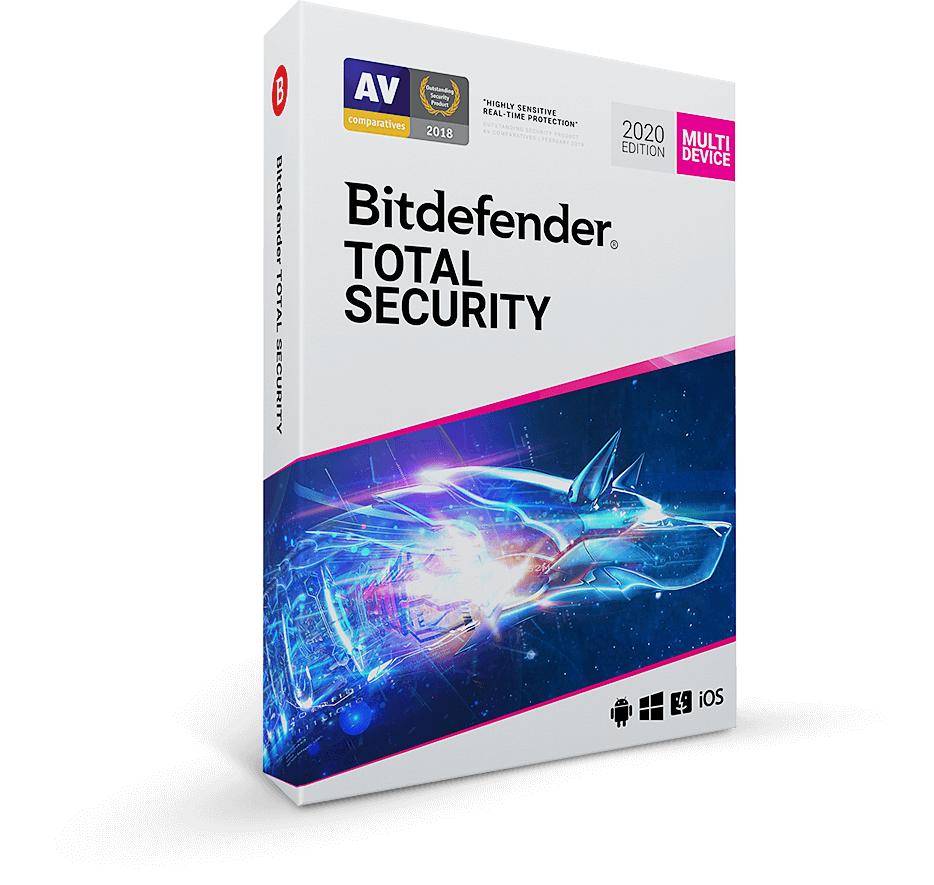 Bitdefender Total Security 2020 na 180 dni za darmo