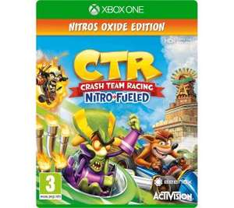 Crash Team Racing Nitro-Fueled - Edycja Oxide Xbox One