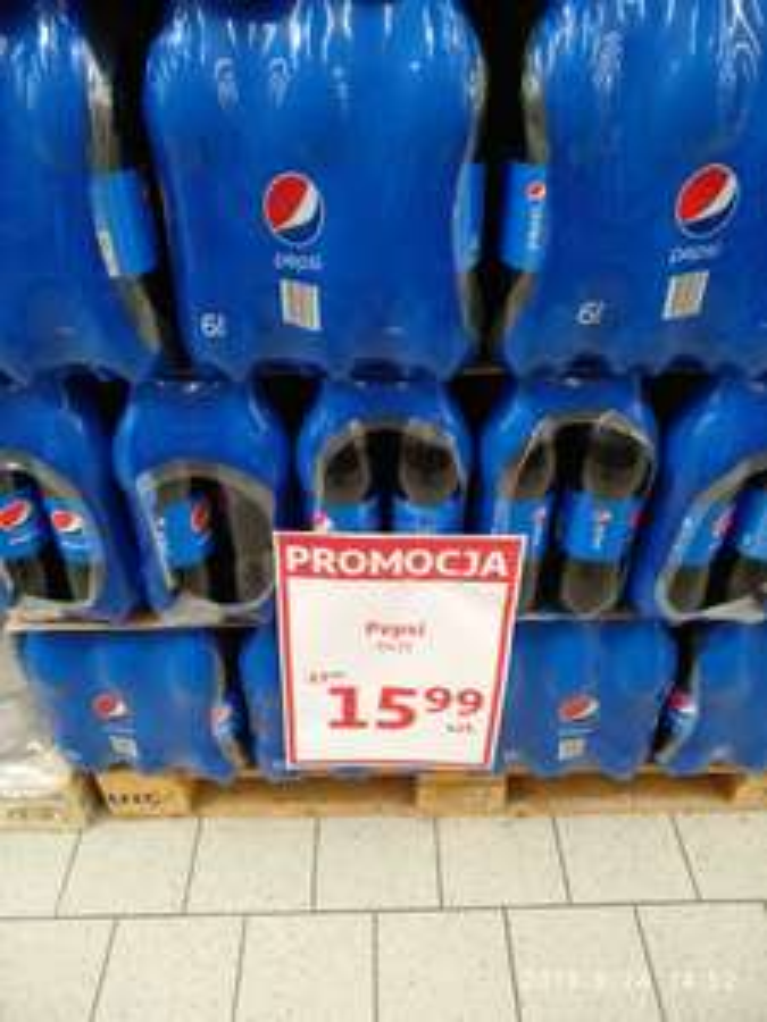 Pepsi 6x2L Auchan Nowy Sącz